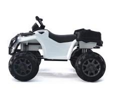 фото детского электроквадроцикла Barty Т009МР White сбоку