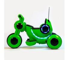 фото детского электромотоцикла Barty Y-MAXI YM77 Green сбоку