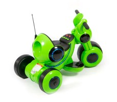 фото детского электромотоцикла Barty Y-MAXI YM77 Green сзади