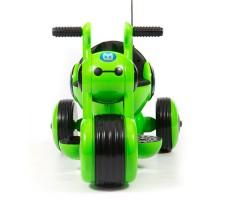 фото детского электромотоцикла Barty Y-MAXI YM77 Green спереди