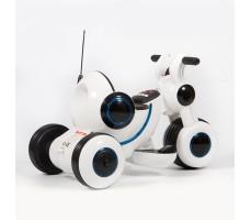 фото детского электромотоцикла Barty Y-MAXI YM77 White сзади