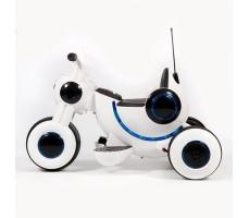 фото детского электромотоцикла Barty Y-MAXI YM77 White сбоку