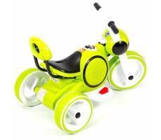 фото детского электромотоцикла Barty Y-MAXI YM93 Green сверху