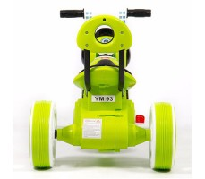 фото детского электромотоцикла Barty Y-MAXI YM93 Green сзади