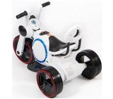 фото детского электромотоцикла Barty Y-MAXI YM93 White сзади