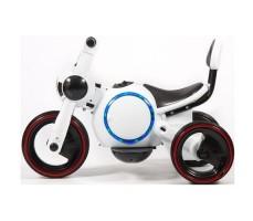 фото детского электромотоцикла Barty Y-MAXI YM93 White сбоку