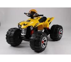 Фото электроквадроцикла Joy Automatic 318 BigQuad Yellow вид спереди