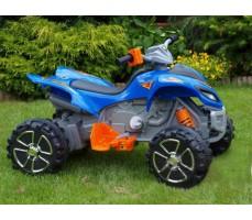 Фото электроквадроцикла Joy Automatic KL-108  Ranger Pro 2 Blue вид сбоку
