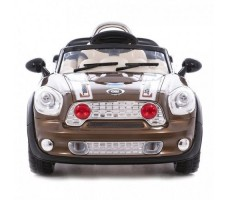 Фото электромобиля Joy Joy Automatic 118 Mini Cooper Champagne вид спереди