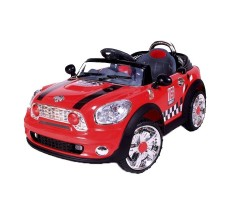 Фото электромобиля Joy Joy Automatic 118 Mini Cooper Red вид спереди