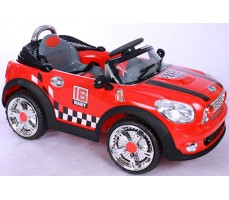 Фото электромобиля Joy Joy Automatic 118 Mini Cooper Red вид сбоку