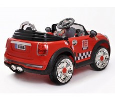 Фото электромобиля Joy Joy Automatic 118 Mini Cooper Red вид сзади