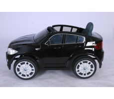 Фото электромобиля Joy Automatic BMW JJ 258 Х6 Black вид сбоку