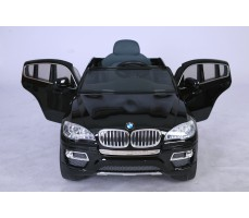 Фото электромобиля Joy Automatic BMW JJ 258 Х6 Black вид спереди