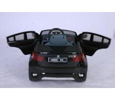 Фото электромобиля Joy Automatic BMW JJ 258 Х6 Black с открытыми дверьми