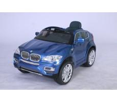 Электромобиль BMW JJ 258 Х6 Blue (р/у)