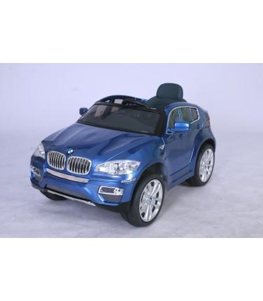 Электромобиль Joy Automatic BMW JJ 258 Х6 синий | Купить, цена, отзывы