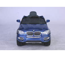Фото электромобиля Joy Automatic BMW JJ 258 Х6 Blue вид спереди