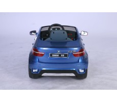Фото электромобиля Joy Automatic BMW JJ 258 Х6 Blue вид сзади