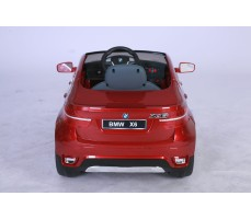 Фото электромобиля Joy Automatic BMW JJ 258 Х6 Red вид сзади