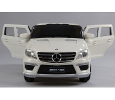 Электромобиль Mercedes Benz ML63 AMG  LUXE White (р/у)