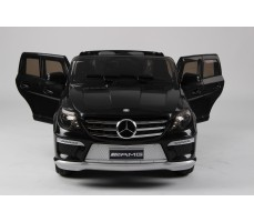 Фото электромобиля Joy Automatic Mercedes Benz ML63 AMG  LUXE Black с открытыми дверьми