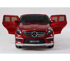 Фото электромобиля Joy Automatic Mercedes Benz ML63 AMG  LUXE Red c открытыми дверьми