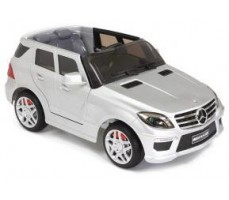 Электромобиль Mercedes Benz ML63 AMG  LUXE Silver (р/у)