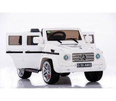 Электромобиль Mercedes Benz G55 AMG LUXE White (р/у)
