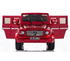 Фото электромобиля Joy Automatic Mercedes Benz G55 AMG LUXE Red с открытыми дверями