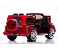 Фото электромобиля Joy Automatic Mercedes Benz G55 AMG LUXE Red вид сбоку с открытой дверью
