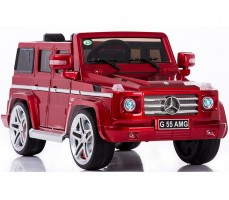 Электромобиль Mercedes Benz G55 AMG LUXE Red (р/у)