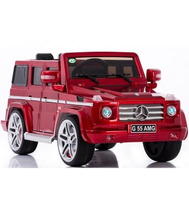Электромобиль Mercedes Benz G55 AMG LUXE красный | Купить, цена, отзывы