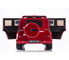 Фото электромобиля Joy Automatic Mercedes Benz G55 AMG LUXE Red вид сзади