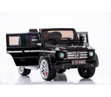Фото электромобиля Joy Automatic Mercedes Benz G55 AMG LUXE Black вид сбоку