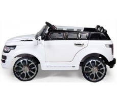 Фото электромобиля Joy Automatic HZLA198 Rover White вид сбоку
