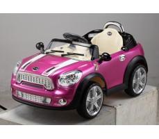 Электромобиль 118 Mini Cooper Pink Металлик (р/у)