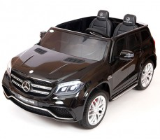 Детский электромобиль Mercedes Benz AMG GLS63 LUXE Black