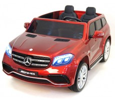 фото Детский электромобиль Mercedes Benz AMG GLS63 LUXE Red