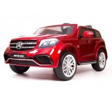 Детский электромобиль Mercedes Benz AMG GLS63 LUXE Red