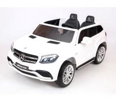 Детский электромобиль Mercedes Benz AMG GLS63 LUXE White