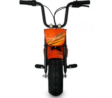 Фото электроскутера Joy Automatic Mini rocket Orange вид спереди