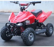 Фото электроквадроцикла Joy Automatic Electro Rider (500W) Red вид спереди