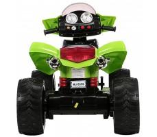 Фото электроквадроцикла Joy Automatic Quad Pro Green вид сзади