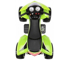 Фото электроквадроцикла Joy Automatic Quad Pro Green вид сверху
