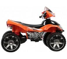 Фото электроквадроцикла Joy Automatic Quad Pro Orange вид сбоку