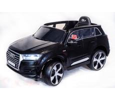 Электромобиль TOYLAND Audi Q7 Black высокая дверь