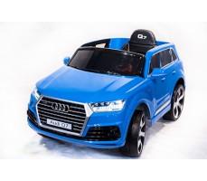 Электромобиль TOYLAND Audi Q7 Blue высокая дверь