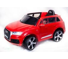 Электромобиль TOYLAND Audi Q7 Red высокая дверь