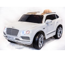 Электромобиль TOYLAND Bentley Bentayga White